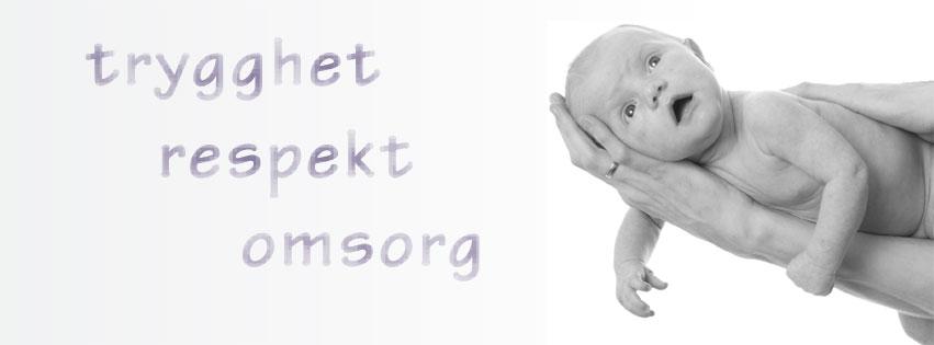 banner med baby