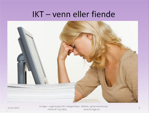 Foredrag om IKT